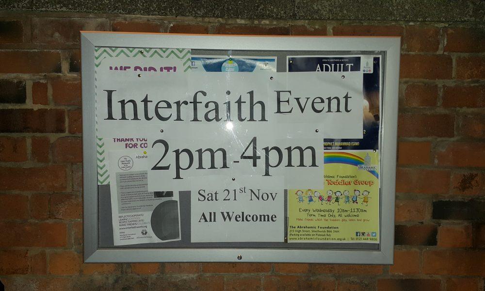 Annual Interfaith Week
