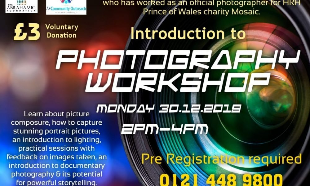 Photography & geometric arts workshops