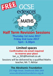GSCE Maths revision 2017 small