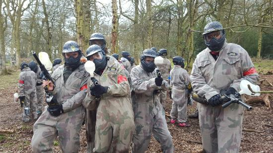 Youth Paintballing